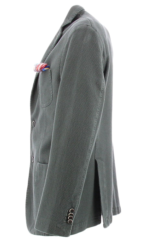 Giacca operata in cotone da uomo colore grigio Atpco GEGEGREY