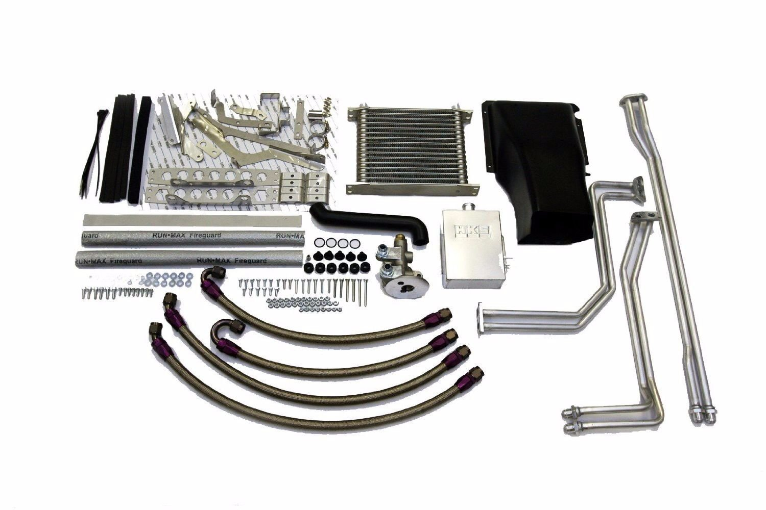HKS 27002-an002 doble embrague Transmisión enfriador Kit: Amazon.es: Coche y moto