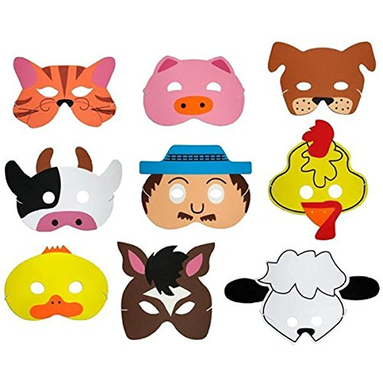 Old Macdonalds Farm Song Play Mask Set Teaching Resource Sack