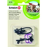 Schleich - 42126 - Selle Pour Poney + Harnais -