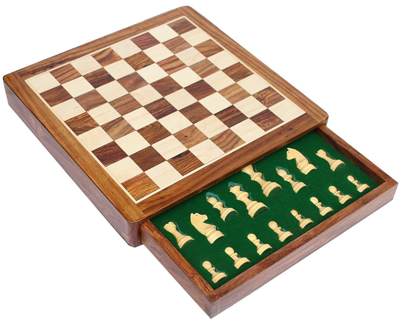 入荷中 BKRAFT4U Flat 30cm Slots, x 30cm B071S92XTM Chess Set - Handmade Wooden Rosewood Foldable Magnetic Chess Game Board with Storage Slots, 30cm 2 Queens B071S92XTM 12 Inch Flat 12 Inch Flat, パンプキンスタジオ:4194ab7f --- nicolasalvioli.com