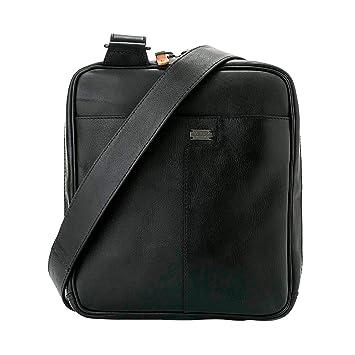 Amazon.com | VÉLEZ 20399 Men Genuine Leather Crossbody Bag | Bandolera De Cuero Black | Backpacks