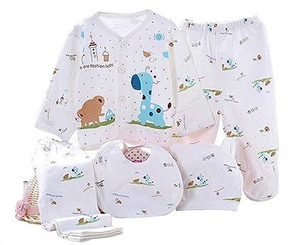 Kris & Ken 3 colores bebé 5 piezas Canastilla Set de regalo Unisex Essentials Bundle Set Regalo Recién Nacido azul Talla:recién nacido