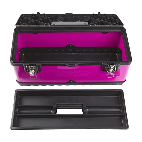 This toolbox is perfect for basic and regular usage by women.