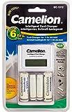 Camelion BC-1012 - Cargador de pilas (incluye 2 pilas recargables de 2300 mAh y 2 pilas recargables de 800 mAH)
