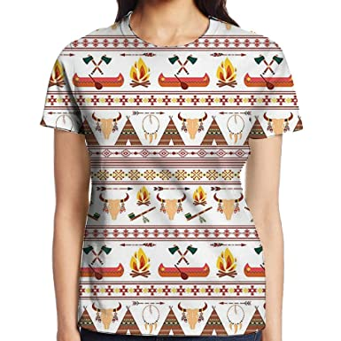 wulion ethnic native american indian pattern with geometrical