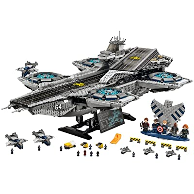 LEGO Marvel Super Heroes 76042 The SHIELD Helicarrier: Toys & Games