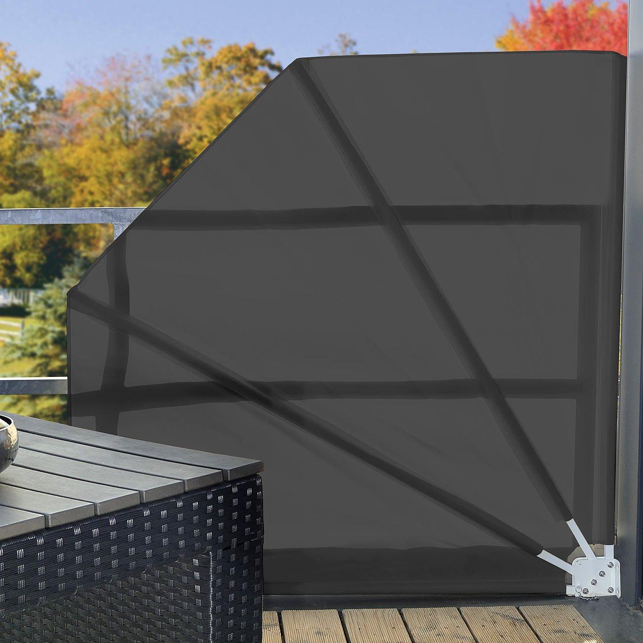 elegant balkon sichtschutz f cher einzigartige ideen zum. Black Bedroom Furniture Sets. Home Design Ideas