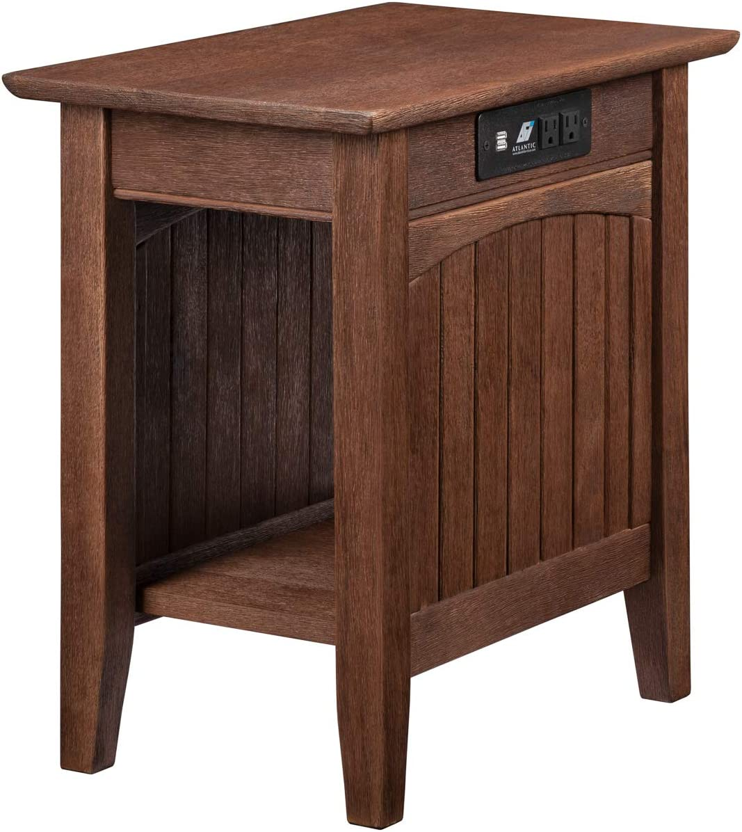 Atlantic Furniture Nantucket Chair Side Table, (22