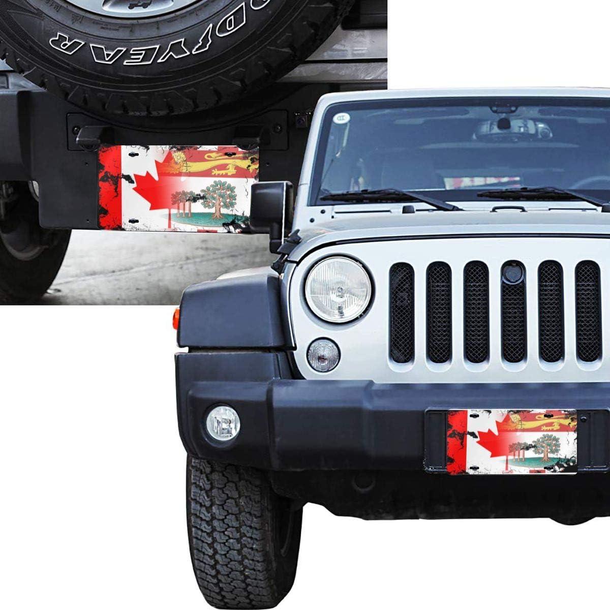 Honduras Canada Flag Metal License Plate Vanity Car Plate Car Tags 6 X 12