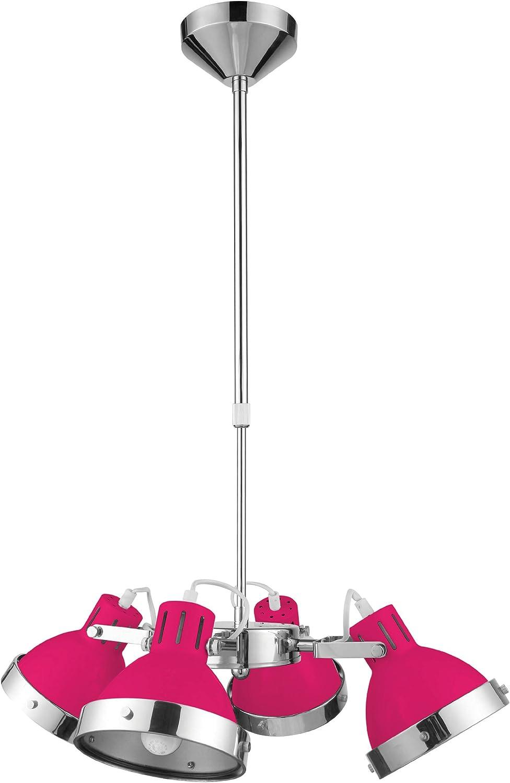 Premier Housewares 2501662 - Producto de iluminación colgante, color rosa
