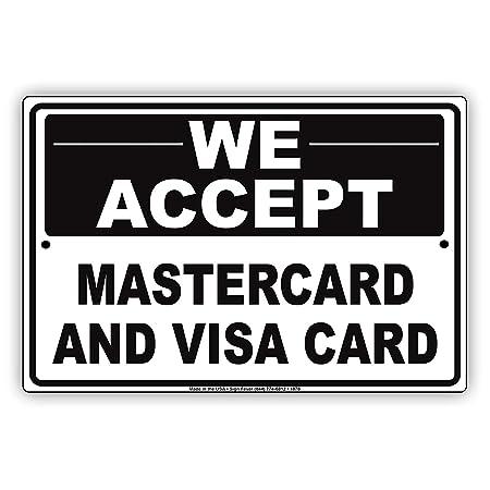 Eugene49Mor Aceptamos MasterCard y tarjeta de visita método de ...