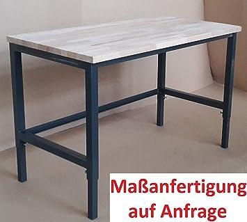 Werkbank Werktisch Werkstatttisch Arbeitstisch Platte komplett stabil Werkbank komplett fertig keine Montage//stabil