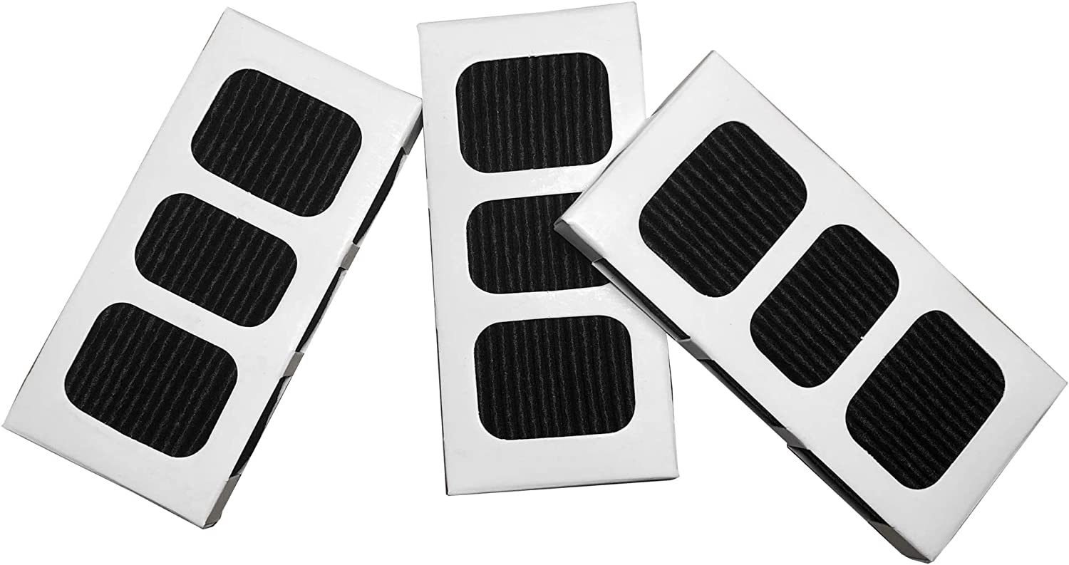 3 Pack Replacement filter Compatible with Paultra2 Air Odor Refrigerator Filter EAF3-2P