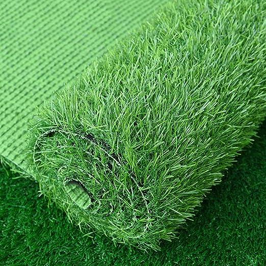Al aire libre Césped artificial de primera calidad Césped falso realista Interior de lujo Jardín al