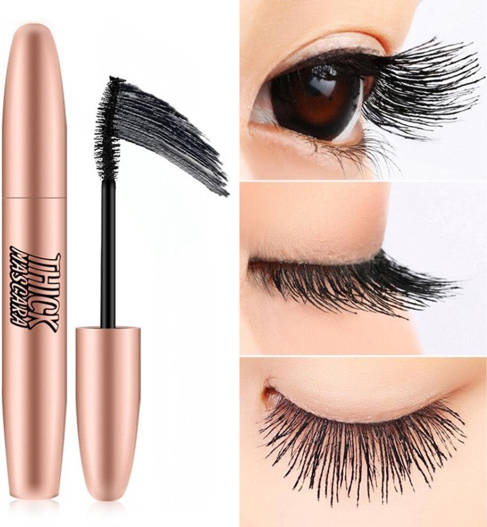 TAOtTAO - Pestañas de maquillaje impermeables, color negro ...