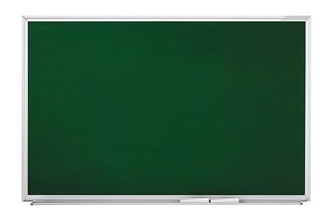 magnetoplan 1240395 - Pizarra de tiza (900 x 600 mm), verde ...