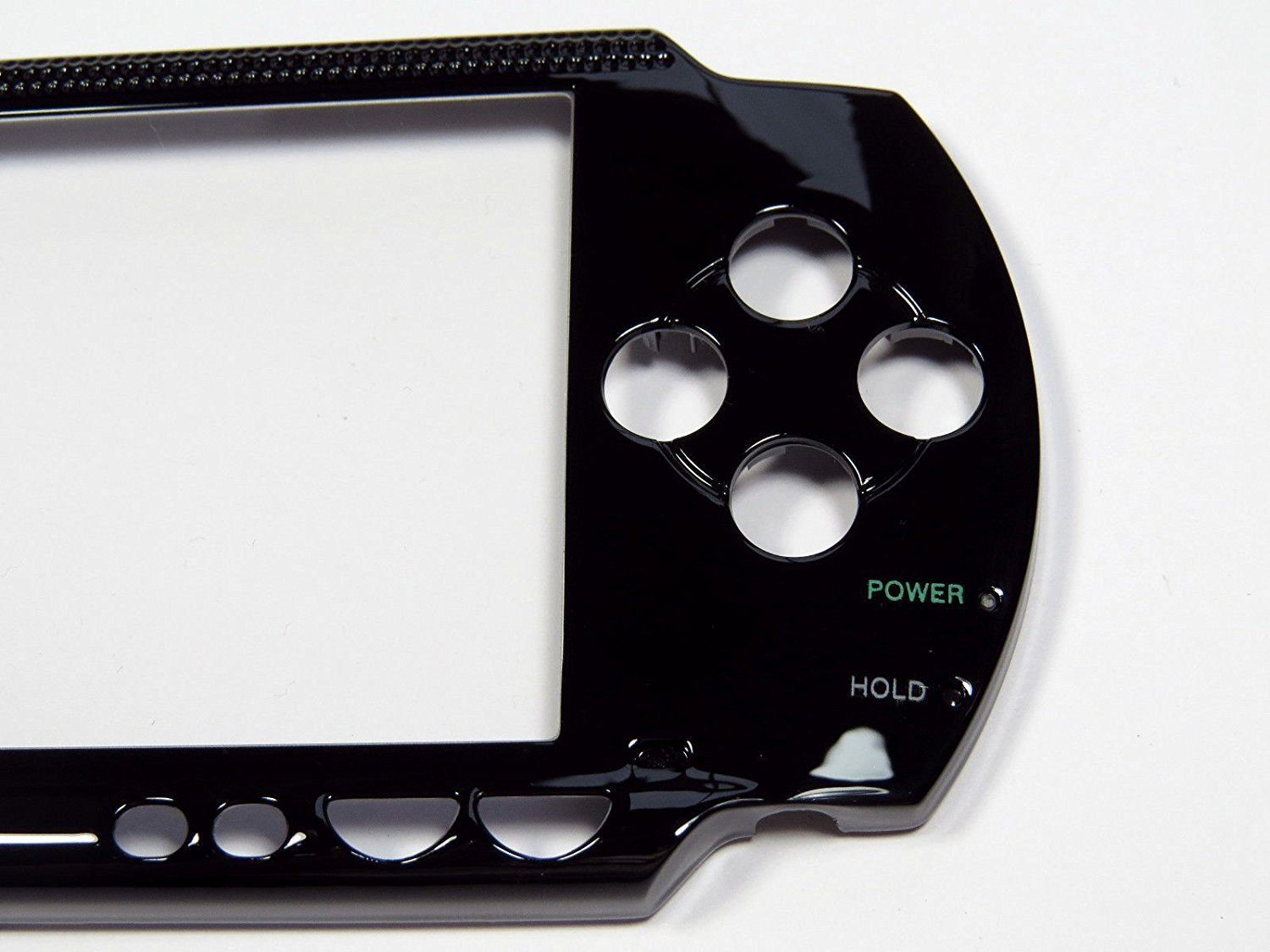 Gametown New Repair Faceplate Front Plate Case Cover Shell Part for Sony PSP 1000 1001 Black