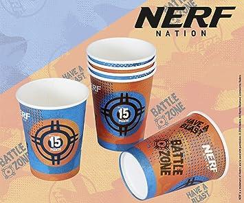 Tib Heyne 6 Vasos de Papel * Nerf * para Fiestas y ...