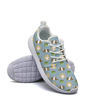 e02b5b09d42 Amazon.com | Heart Wolf Guinea Pig Gym Shoes for Womens Cute ...