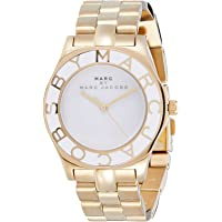 Marc by Marc Jacobs Women's White Dial Stainless Steel Band Watch - MBM3050