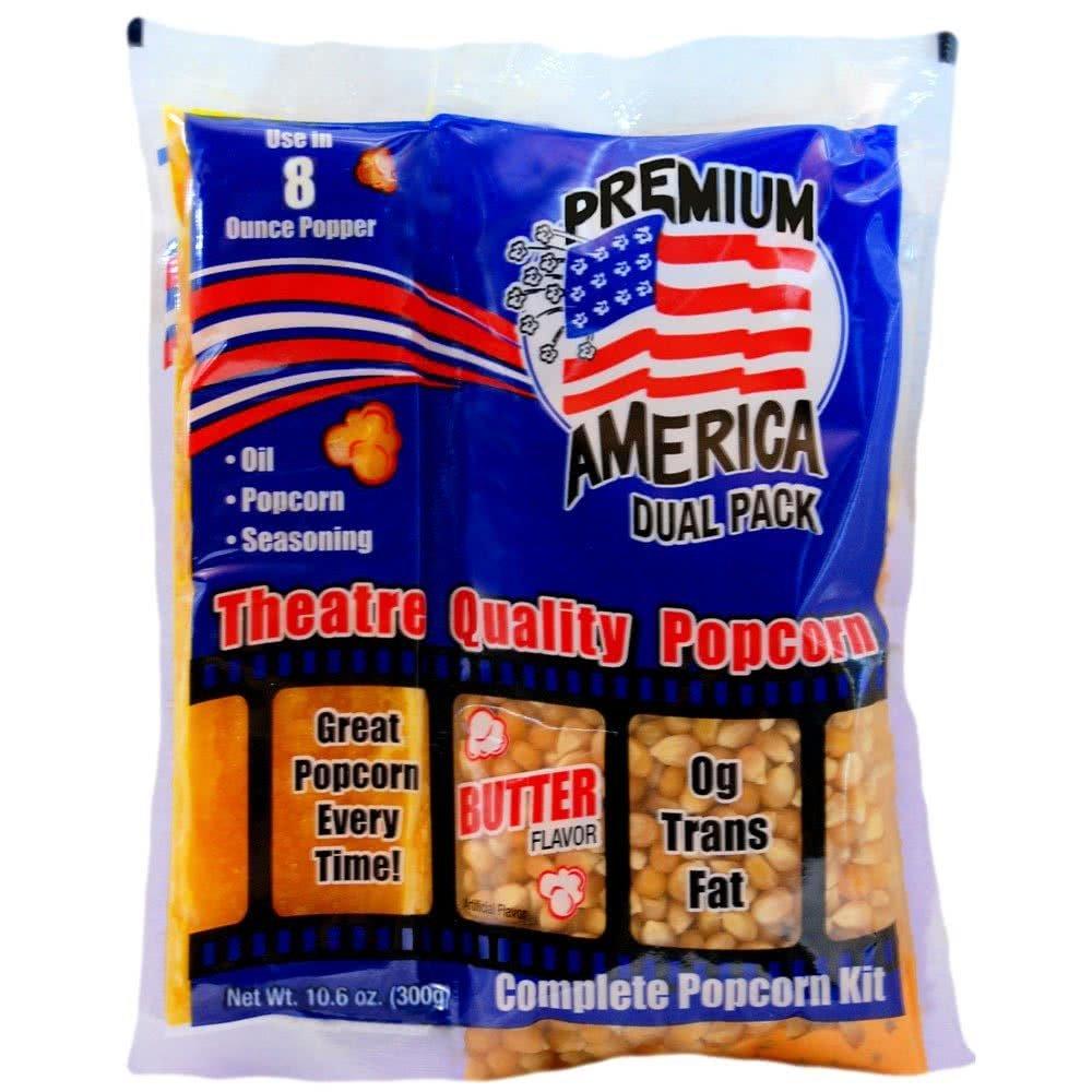G Western Premium America Dual Pack Popcorn, 10.6 Ounce (Pack of 24)