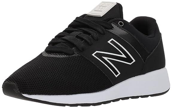 New Balance Women's 24v1 Lifestyle Sneaker, Black, 7 D US