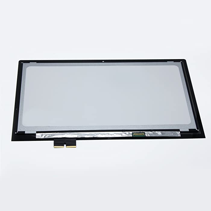"LCDOLED New 15.6"" LCD Touch Laptop Screen Digitizer Assembly for Lenovo Edge 2‑1580 80QF 1080P"