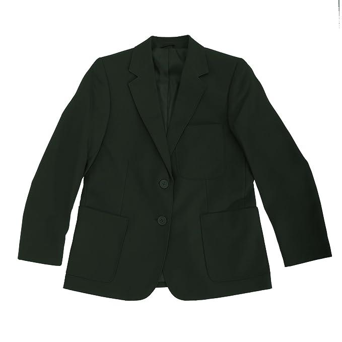 Jerzees - Chaqueta americana / blazer clásica para niñas ...