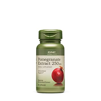 Amazon.com: GNC Herbal Plus Extracto de Granada de 250 mg 50 ...