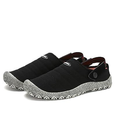 Voovix Herren Damen Slip-On Canvas Schuhe Low-Top Casual Sneaker Flach  Hausschuhe Rutschfeste Trainer  Amazon.de  Schuhe   Handtaschen 64dc30f91d