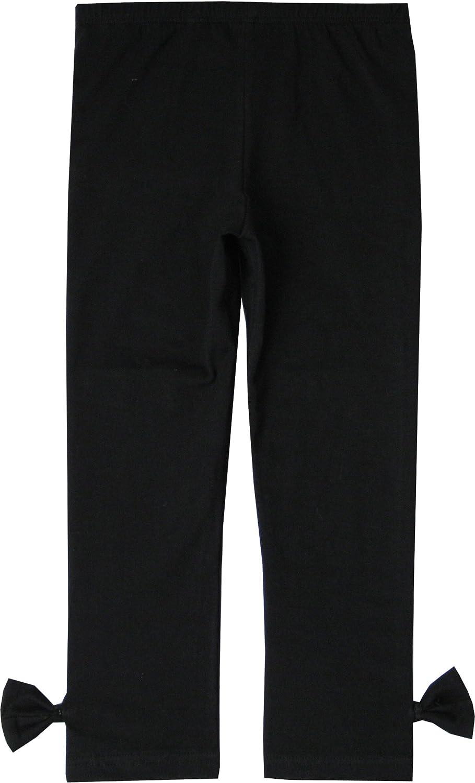 Sunny Fashion Ragazze Pantaloni 3-Pack Cotone Ghette Pizzo Elastico Bambini Bambino Piccolo 2-6 Anni