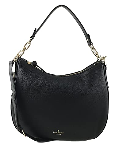 Amazon.com  Kate Spade New York Mulberry Street Vivian Hobo Purse (Black)   Shoes ff1b7f5918f25