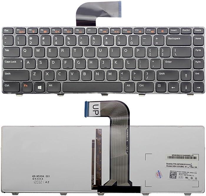 New for Dell Inspiron 15 N5040 N5050 3520 15R 5520 SE 7520 US Backlit Keyboard