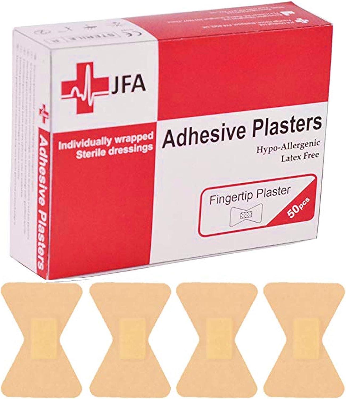 Cerotti per dita lavabili 40 x 60 mm 50 cerotti per confezione JFA Medical