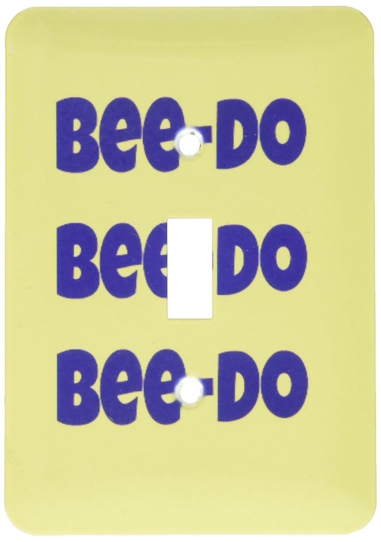 海外並行輸入正規品 3drose LSP_ 195349 B00NVXXV90_ 1 Do、Bee Bee Do 195349、Bee Do、Bee Do、ブルー、イエローライトスイッチカバー B00NVXXV90, ますや雲湧堂:a9bca5bc --- svecha37.ru