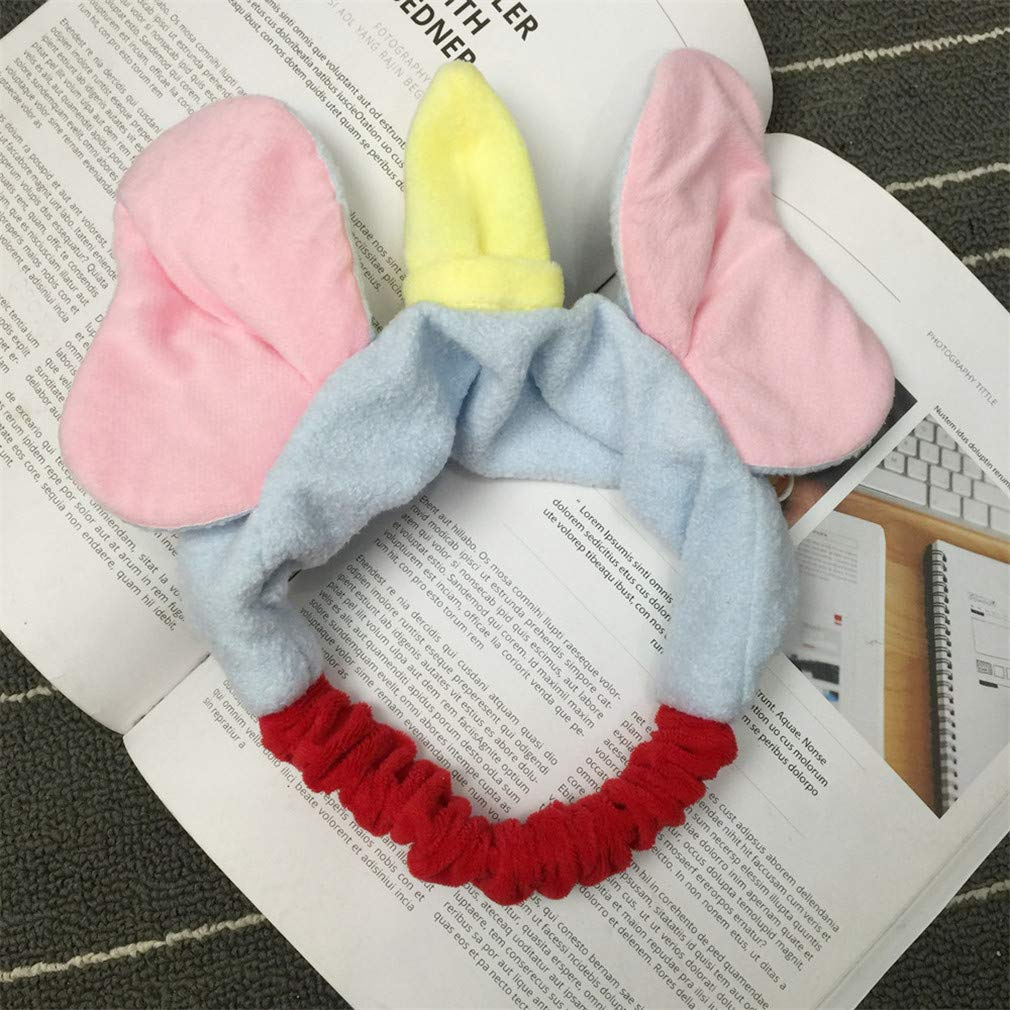 Amazon.com : Cute Elephant Ear Makeup Headbands For Washing Face Shower Spa Mask Soft Love Hair Bands For Women And Girls Gifts : Beauty