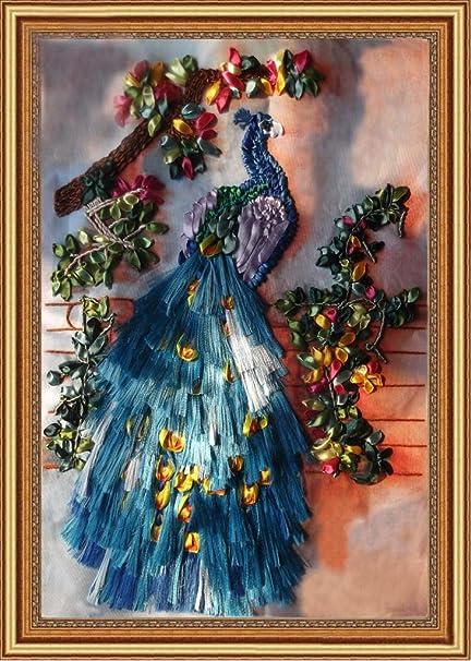 Amazon com: Aureate Handmade Silk Ribbon Embroidery Kits