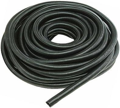 Mintice Black 10mm Width Split Loom Wire Flexible Tubing Conduit Hose Cover Car 3m Length Amazon Co Uk Diy Tools