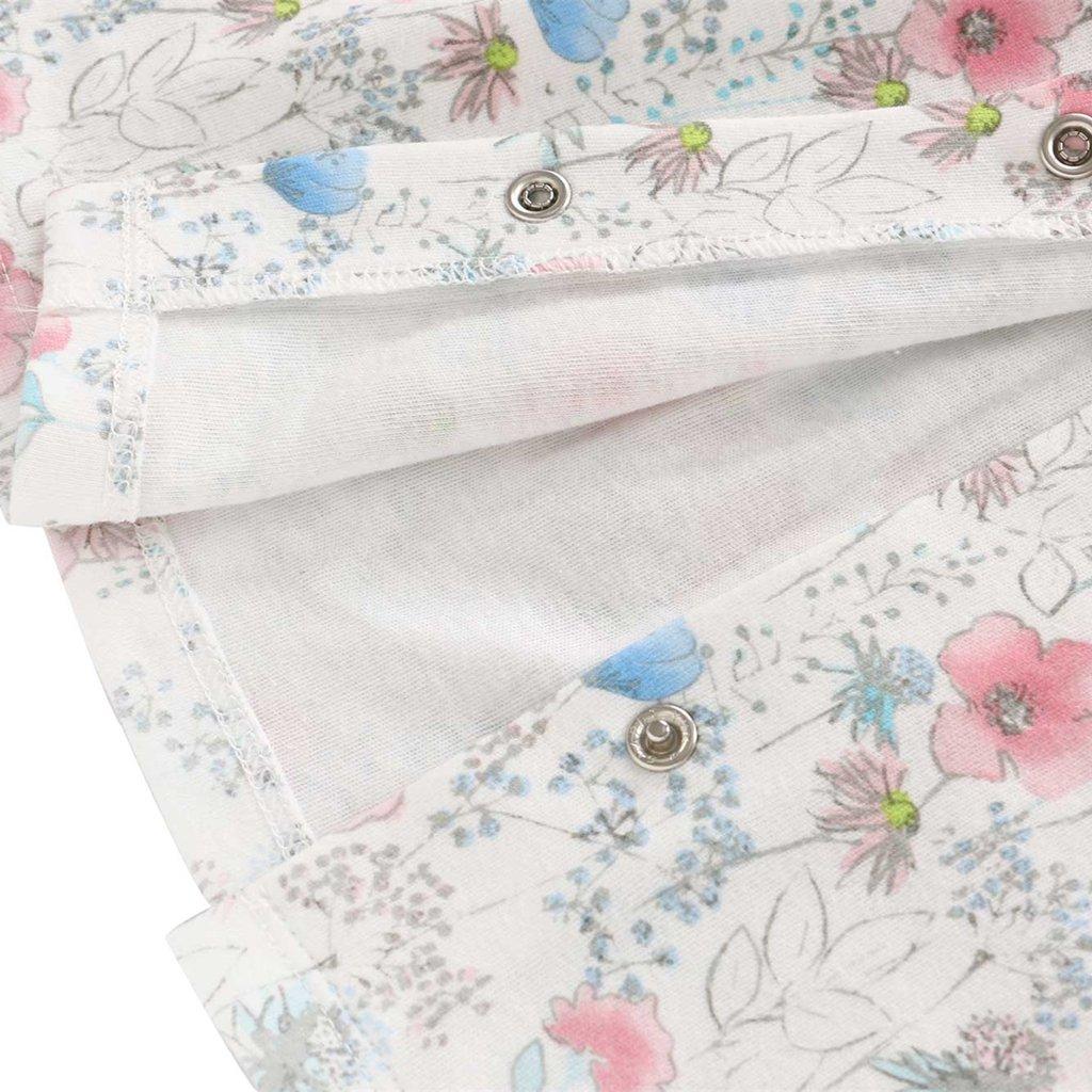 Stirnband Minizone Baby M/ädchen 3pcs Kleidung Set Neugeborene Outfits Set Strumpfhosen Blumen Kleid Langarm