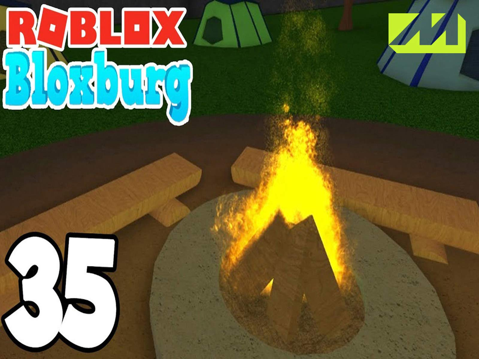 The Campfire Roblox Watch Clip Let S Play Roblox Prime Video