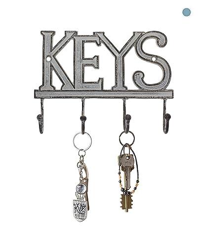 "Amazon.com: Key Holder ""Keys"" – Wall Mounted Western Key Holder ..."