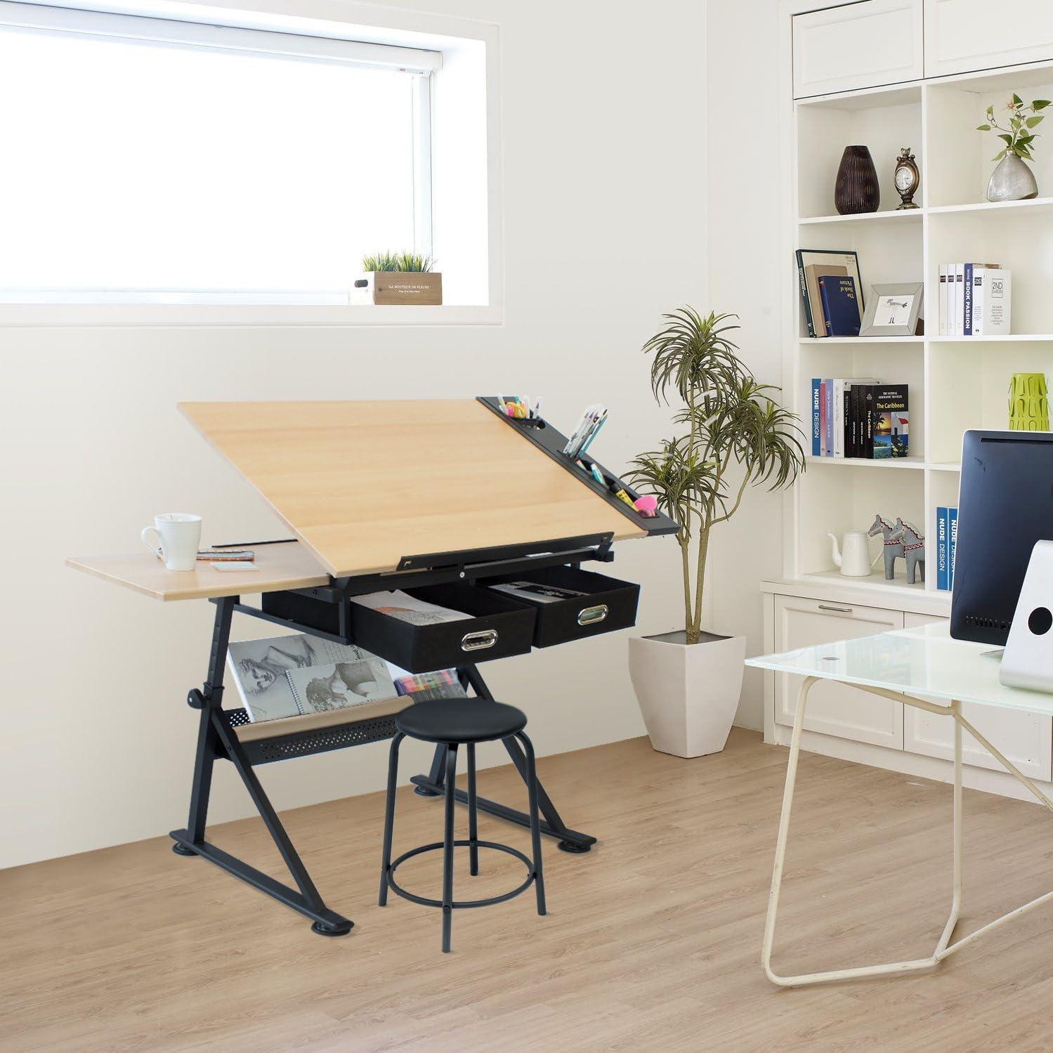 Stationery Island FOULA Mesa de Dibujo para Arte y Diseño – Mesa ...