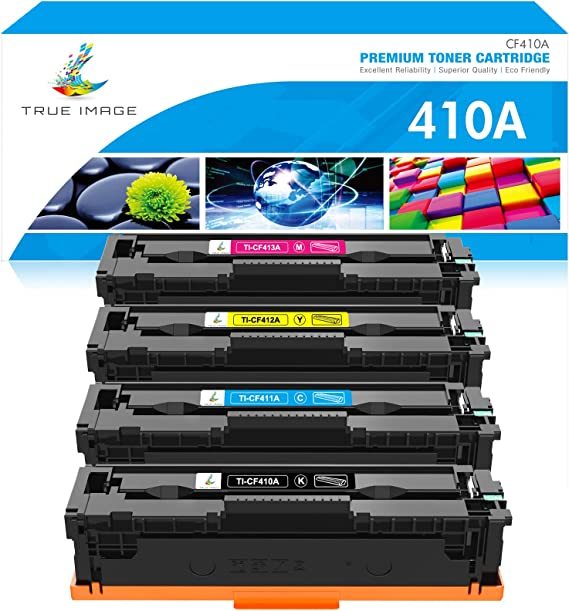 Inksters Compatible Toner Cartridge Replacement for HP CF412A 2,300 Pages 410A Toner Yellow