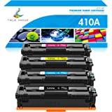 TRUE IMAGE Compatible Toner Cartridge Replacement for HP 410A CF410A CF411A CF412A CF413A Color Laserjet Pro MFP M477fnw…