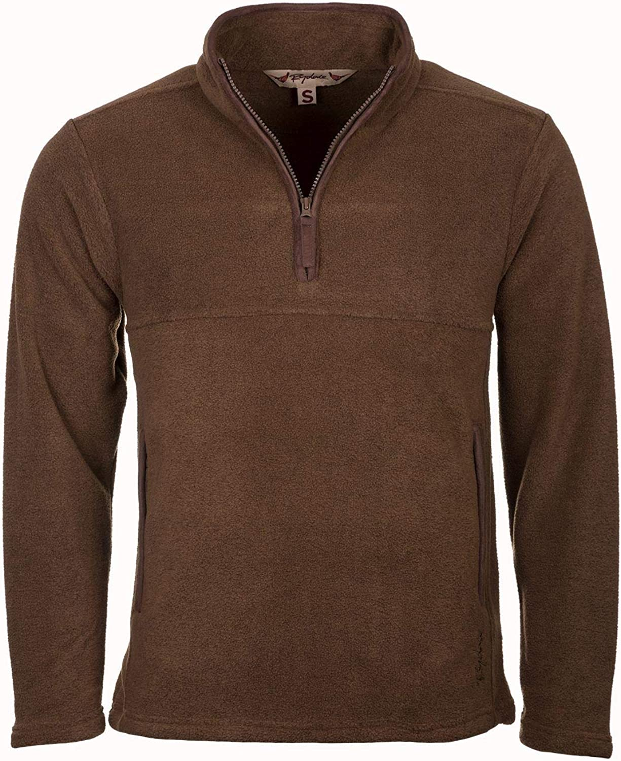 Rydale Mens Huggate Overhead Pullover Soft Fleece Half Zip Lightweight /& Casual Gents Country Jumper