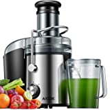 AICOK Juicer Extractor 1000W Centrifugal Juicer Machines Ultra Fast Extract Various Fruit and Vegetable Juice, 75MM…