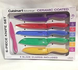 Cuisinart Advantage 12-Piece Knife Set Bright - 6 knives & 6 knife covers