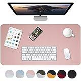 "Weelth Multifunctional Office Desk Pad, 31.5"" x 15.7"" Waterproof Desk Pad Protector PU Leather Dual-Sided Desk Writing…"