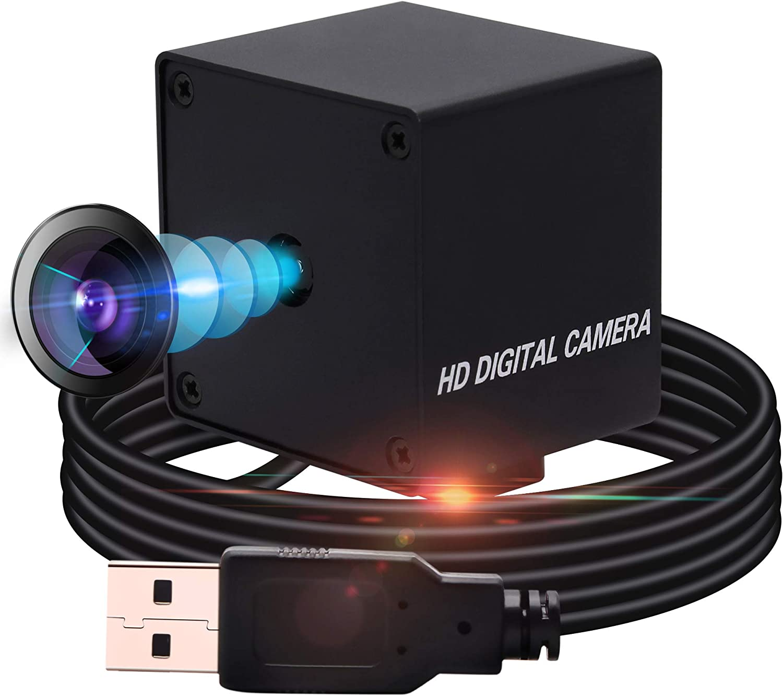 Usb Camera 13MP USB Webcam Mini Camera,Autofocus Usb with Cameras High Definition 3840X2880 USB Camera,75 Degree No-Distortion Camera USB with Sony IMX214,UVC Support,Plug&Play for Windows,Android,Mac